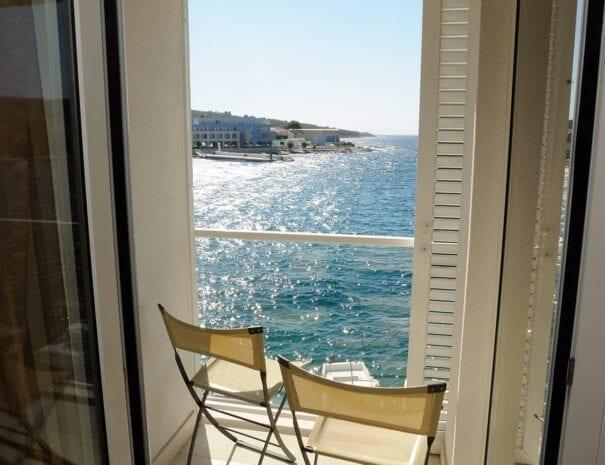 Hotel Vrilo balcony view 2