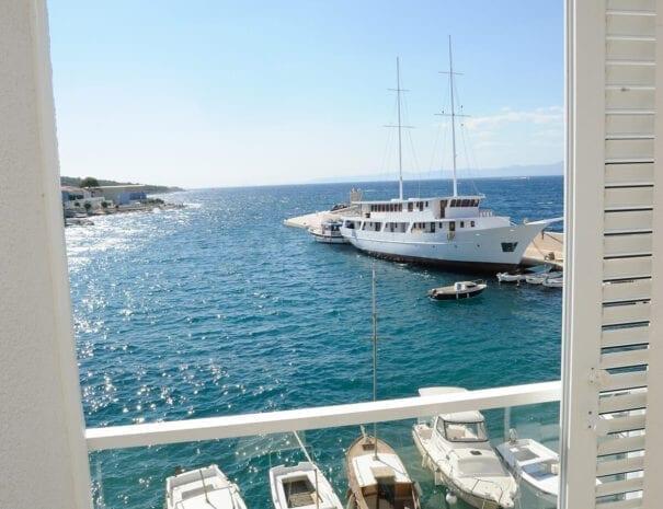Hotel Vrilo balcony view